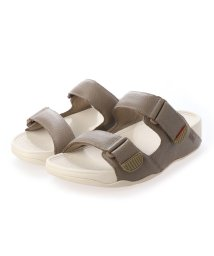 FITFLOP/フィットフロップ fitflop GOGH MOC SLIDE IN LEATHER (Timberwolf)/503219986