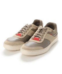 FITFLOP/フィットフロップ fitflop CALEB LEATHER SNEAKERS (Timberwolf)/503219989
