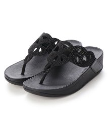 FITFLOP/フィットフロップ fitflop ELORA CRYSTAL TOE-THONGS (All Black)/503220036