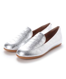 FITFLOP/フィットフロップ fitflop LENA CROCO LOAFERS (Silver)/503220068
