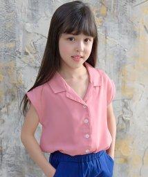 子供服Bee/ノースリーブシフォンサマーシャツ/503235802