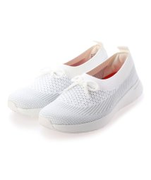 FITFLOP/フィットフロップ fitflop ADORA BOW-DETAIL BALLERINA (White/Storm Grey)/503244726