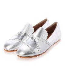 FITFLOP/フィットフロップ fitflop ANGELINA MICROSTUD LOAFERS (Silver)/503244730