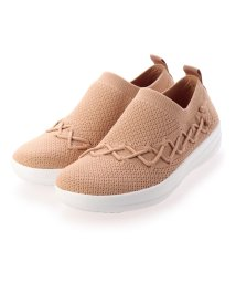 FITFLOP/フィットフロップ fitflop CORSETTED SLIP-ON SNEAKERS (Blush)/503244743