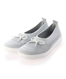 FITFLOP/フィットフロップ fitflop UBERKNIT SLIP-ON BALLERINA WITH BOW (Pearl)/503244744