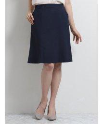 m.f.editorial/トラベスト/TRABEST セットアップ フレアースカート 紺ピンヘッド/503245260