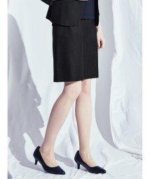 m.f.editorial/ホトフレッシュ/HOTOFRESH セットアップ セミタイトスカート 紺/503245265