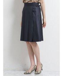 m.f.editorial/ボンフォルト/BONNEFORTE セットアップ フレアースカート 紺/503245267
