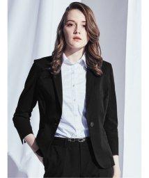 m.f.editorial/クールドッツ/COOL DOTS セットアップ1釦8分袖テーラージャケット黒/503245277