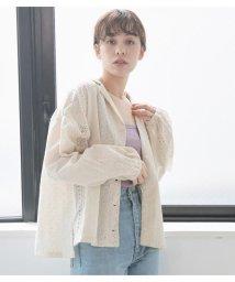 Avan Lily/カットワーク刺繍シャツブルゾン/503245579