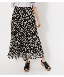 AZUL by moussy/BIG LEOPARD FLARE SKIRT/503245587