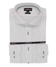 TAKA-Q/形態安定スリムフィット カラミ織カッタウェイ長袖ビジネスドレスシャツ/ワイシャツ/503246341
