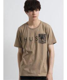 semanticdesign/ポケット布帛使いロゴ クルーネック半袖Tシャツ/503246421