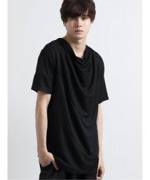 semanticdesign/天竺切替ドレープ半袖Tシャツ/503246429