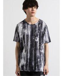 semanticdesign/シェラック/SHELLAC ペイント総柄グラフィック クルーネック半袖Tシャツ/503246454
