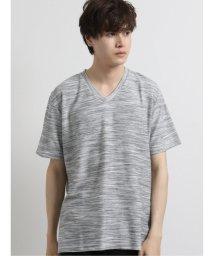 semanticdesign/接触冷感リップルVネック半袖Tシャツ/503246463