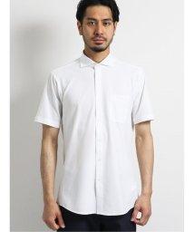 TAKA-Q/Biz カッタウェイ半袖ニットシャツ  サッカー/ビズポロ/クールビズ/503246481