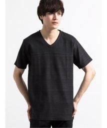 semanticdesign/シャドーボーダーVネック半袖Tシャツ/503246498
