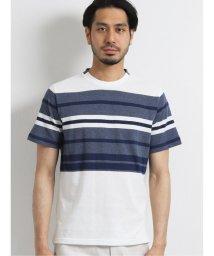 TAKA-Q/ボルテックス/VORTEX アムンゼンボーダー クルーネック半袖Tシャツ/503246499