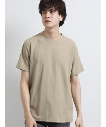 semanticdesign/ジャガードケーブル柄クルーネック半袖Tシャツ/503246500