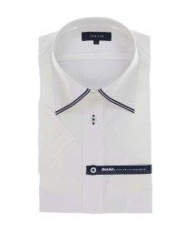 TAKA-Q/形態安定 DotAir レギュラーフィット ワイドカラー半袖ビジネスドレスシャツ/ワイシャツ/503246502