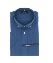 TAKA-Q/形態安定 DotAir レギュラーフィット ボタンダウン半袖ビジネスドレスシャツ/ワイシャツ/503246506