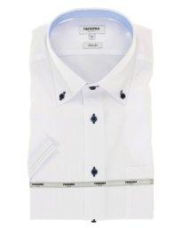 TAKA-Q/アイスカプセル形態安定スリムフィット ボタンダウン半袖ビジネスドレスシャツ/ワイシャツ/503246508