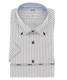 TAKA-Q/アイスカプセル形態安定スリムフィット ボタンダウン半袖ビジネスドレスシャツ/ワイシャツ/503246509