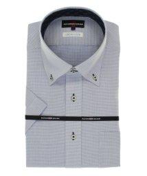 TAKA-Q/接触冷感形態安定レギュラーフィット ドゥエボタンダウン半袖ビジネスドレスシャツ/ワイシャツ/503246514