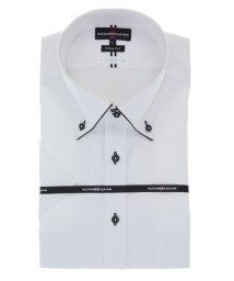 TAKA-Q/接触冷感形態安定スリムフィット ドゥエボタンダウン半袖ビジネスドレスシャツ/ワイシャツ/503246515