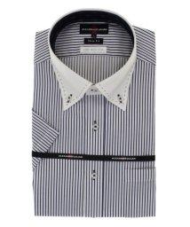 TAKA-Q/接触冷感形態安定スリムフィット ボタンダウンクレリック半袖ビジネスドレスシャツ/ワイシャツ/503246516