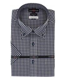 TAKA-Q/接触冷感形態安定スリムフィット ドゥエボタンダウン半袖ビジネスドレスシャツ/ワイシャツ/503246517