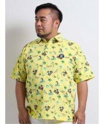 GRAND-BACK/【大きいサイズ】シナコバ/SINA COVA  ドライマスター総柄半袖ポロシャツ/503246589