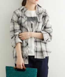 ROPE' PICNIC/【一部店舗限定】ワイドポケットチェックルーズシャツ/503247237