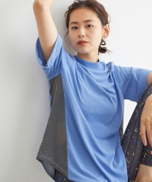 NERGY/サイドメッシュスポーツTシャツ/503247707