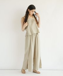 FIKA./【セットアップ対応商品】FIKA. Backwrap design Camisole/503201755