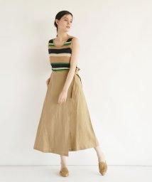 FIKA./FIKA. Wrap Linen skirt/503201759
