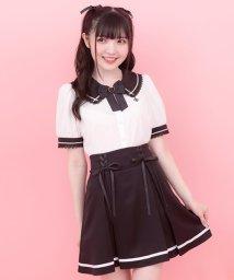 Secret Honey/レースアップマリンスカート/503201809
