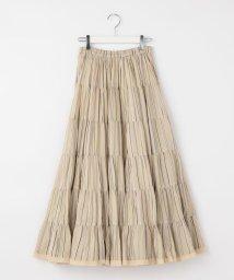 NOLLEY'S/【MARIHA/マリハ】草原の虹のスカート プリント/503202632