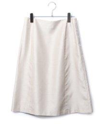 ROPE'/シルキーシャンタンAラインスカート/503206112