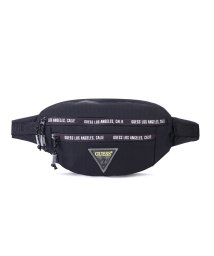 GUESS/ゲス GUESS Triangle Logo Waist Bag (BLACK)/503221338