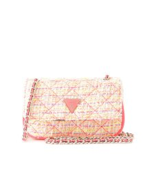 GUESS/ゲス GUESS CESSILY Quilted Tweed Convertible Mini Bag (NEON MULTI)/503221364