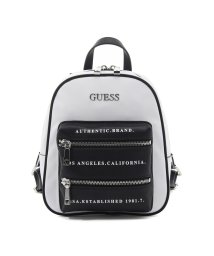 GUESS/ゲス GUESS CALEY Backpack (WHITE MULTI)/503221371