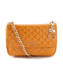 GUESS/ゲス GUESS MELISE Patent Quilted Shoulder Bag (MARIGOLD)/503221411