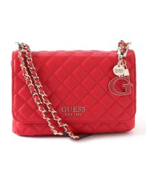 GUESS/ゲス GUESS MELISE Quilted Convertible Crossbody Flap (RED)/503221417