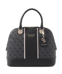 GUESS/ゲス GUESS CATHLEEN Large Dome Satchel (COAL)/503221442