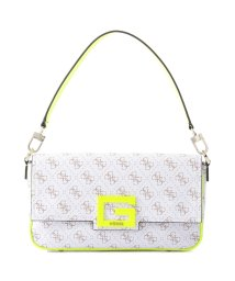 GUESS/ゲス GUESS BRIGHTSIDE Shoulder Bag (WHITE MULTI)/503221454