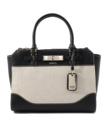 GUESS/ゲス GUESS RAFFIE Jacquard Carryall (BLACK)/503221455
