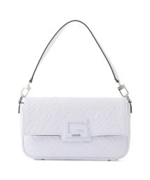 GUESS/ゲス GUESS BRIGHTSIDE Embossed Shoulder Bag (WHITE)/503221463