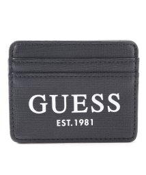 GUESS/ゲス GUESS OUTFITTER Card Case (BLACK)/503221478